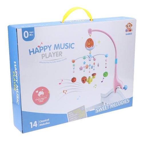 Móvil Cunero Colgante Con Música Para Bebé