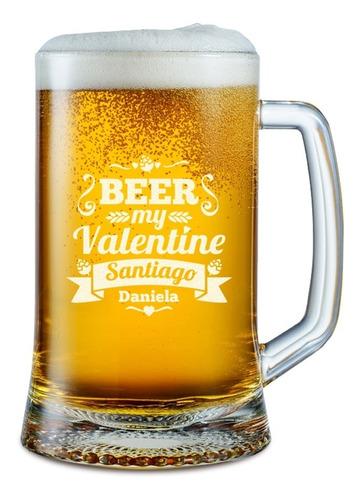 Chopp Personalizado: Beer My Valentine