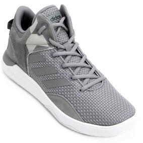 Tênis adidas Cf Revival Mid Cinza