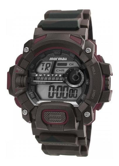 Relógio Mormaii Mo1132af/8m Militar Estiloso Novo De Vitrine