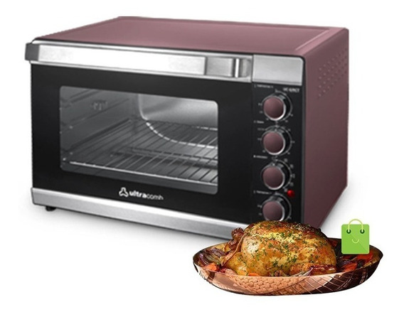 Horno Electrico Ultracomb 62 Lts Spiedo 2000w 2 Mem Uc62rct