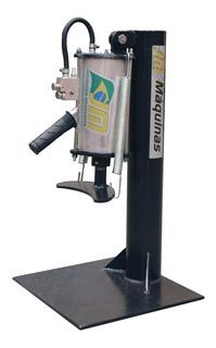 Descolador De Pneus Pneumático - C/ Suporte - Jm Máquinas