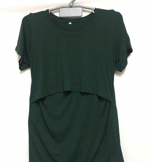 Blusa De Amamentação Kit Com 3 Duas Alcinha E Uma Camiseta