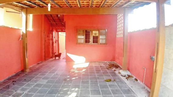 Entrada R$ 24 Mil + Saldo Financiado Pela Caixa. Casa Com 1 Dormitório À Venda, 74 M² Por R$ 120.000 - Plataforma - Mongaguá/sp - Ca3481