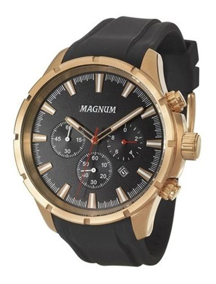 Relógio Magnum Masculino Bronze Ma34343p
