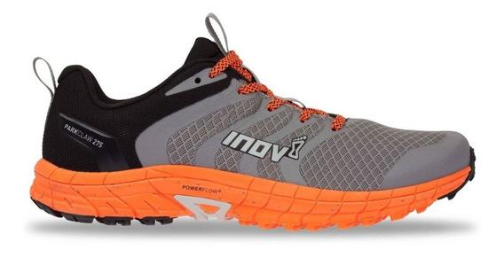 Zapatillas Inov-8 Parkclaw 275 Hombre Gris/naranja Running