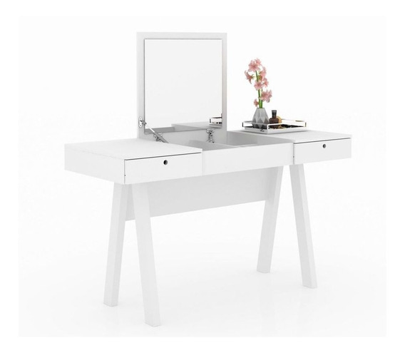 Penteadeira Escrivaninha Tecno Mobili Pe-2002 Branco