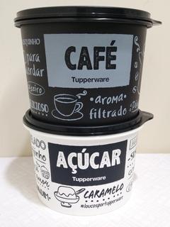 Kit Tupper Caixa De Açúcar E Café