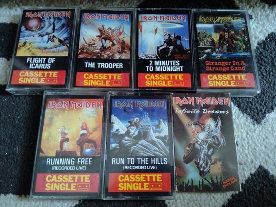 Iron Maiden Single Coleção Lote Fita Cassete K7