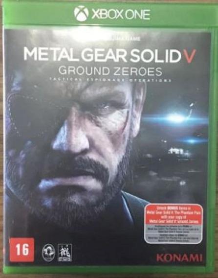 Jogo Xbox One Metal Gear Solid V: Ground Zeroes Konami Novo