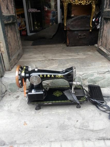 Maquina De Coser Electrica Antigua Lisa