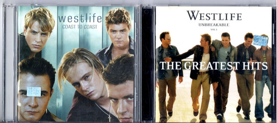 Westlife Coast To Coast + Greatest Hits 2 Cds Impecables!