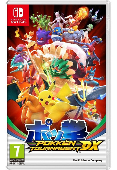 Pokken Tournament Dx Switch Midia Fisica Lacrado