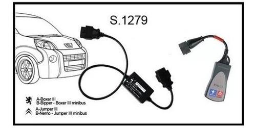 Scanner Lexia Full, Peugeot Planet, Diagbox + Modulo S.1279