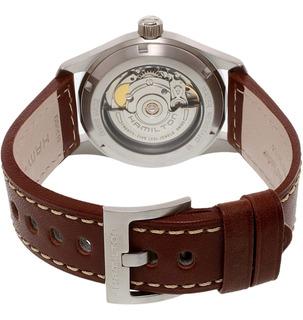 Reloj Hamilton Para Hombre H70455533 Khaki Field Automático