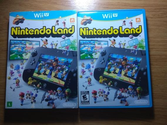 Nintendo Land Wiiu. Mídia Física + Capa. Perfeito Estado!!
