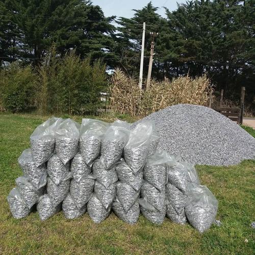 Piedras Partidas Grises!!! Preciosas Para Tu Jardín.