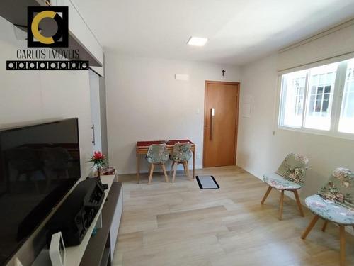 Apartamento Com 84m² No Bairro Do Embaré - Santos - 247