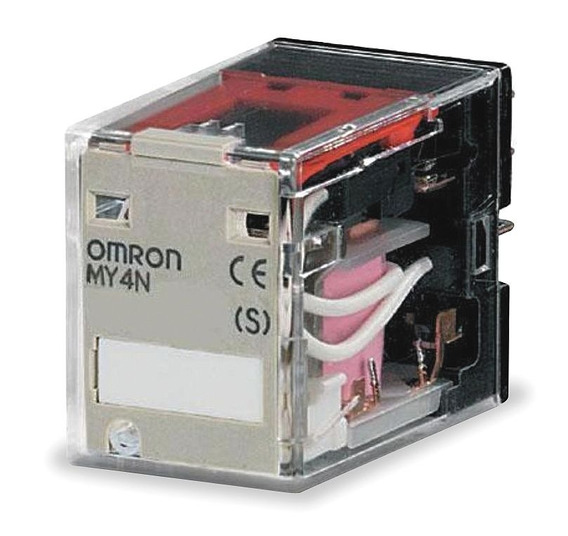 Relé Eletromecânico My4n Dc24v Omron