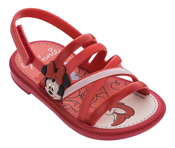 Sandália Infantil Minnie Hearts Baby - 22146-19