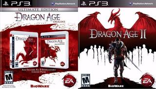 Dragon Age Origins Awakening + Dragon Age 2 ~ Ps3 Digital