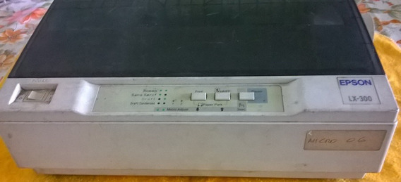 Impressora Matricial Epson Lx 300 Pequeno Defeito + Cabeças.