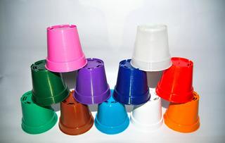 Macetas Plásticas N 8 50 U Aevaplast