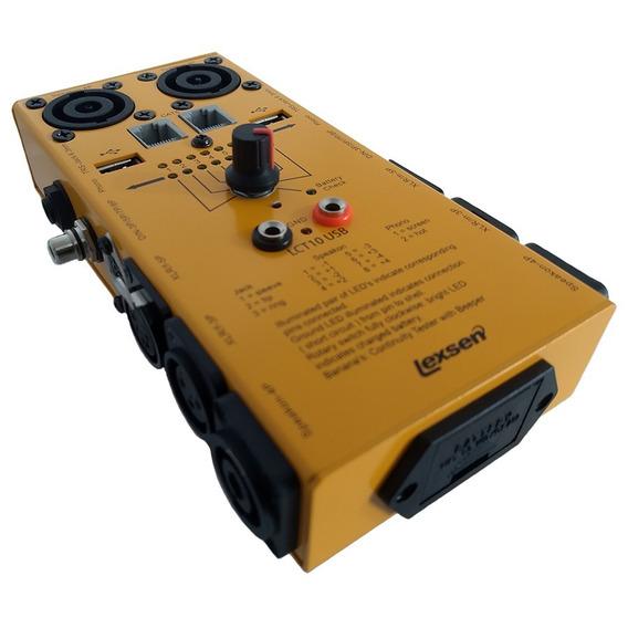Testador De Cabos Lexsen Lct10 Usb | Garantia | Nfe