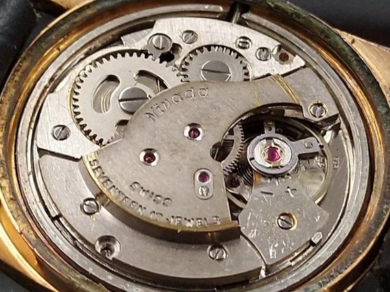 Reloj Nivada Compensamatic 17 Joyas Antiguo