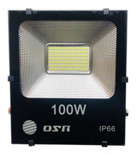 Reflector Led Blanco 100w Alta Potencia Ext Ip66 Canchas