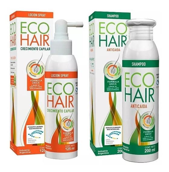 Eco Hair Combo Shampoo X 200ml + Loción X 125ml