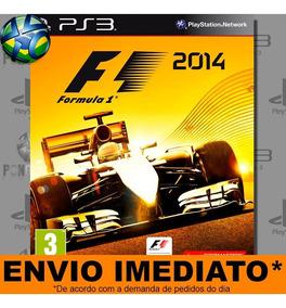 Jogo Fórmula 1 2014 Promoção Envio Agora Ps3 Digital Inglês