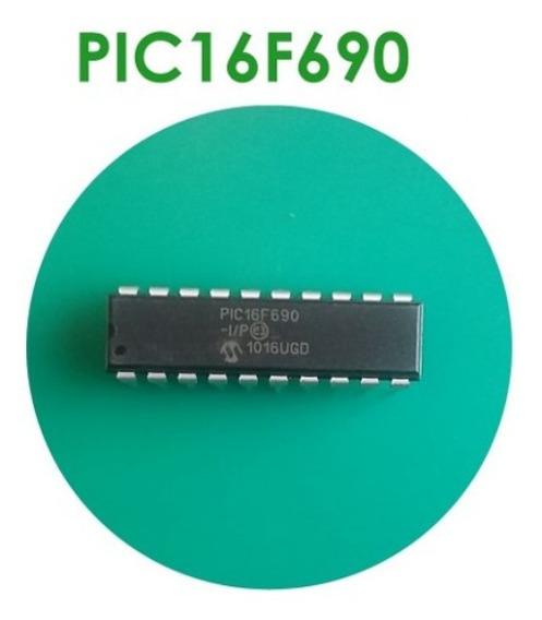 Microcontrolador PIC de Microchip DIP14 2 x 16F688