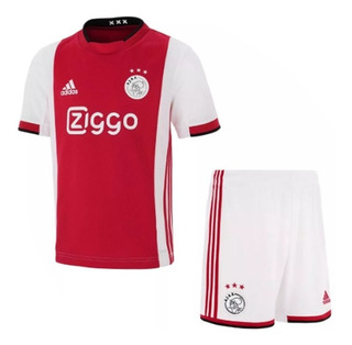Camisa Ajax Conjunto Infantil 2019-20 Produto Em Oferta