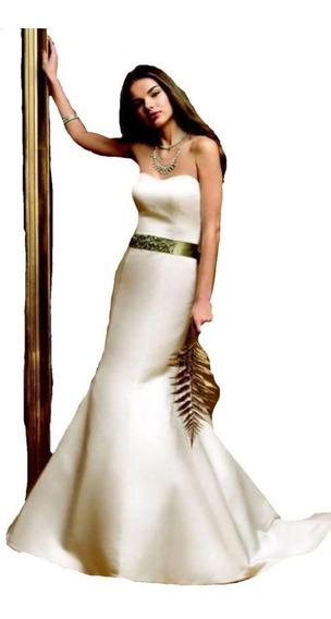 Lilasori Vestido De Novia Importado De Usa Lana Bisset T 7