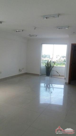 Sala Comercial Para Locação No Edifício Atlântico Jacareí Sp - 4886