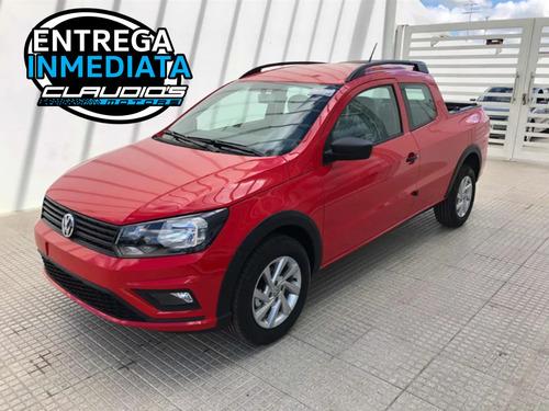 Volkswagen Saveiro Doble Cabina Roja. Entrega Hoy!