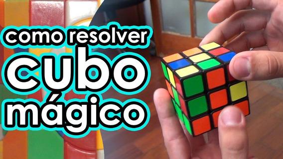 Curso De Como Resolver Cubo Mágico Fácil E Rápido Promoção