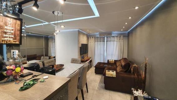Apartamento Com 3 Dormitórios À Venda, 70 M² Por R$ 376.000 - Jardim Maria Rosa - Taboão Da Serra/sp - Ap0645