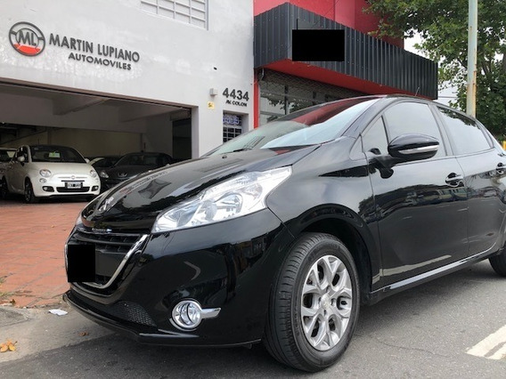 Peugeot 208 Allure 2013 Vtv 1,6 Nafta Techo Solar Impecable