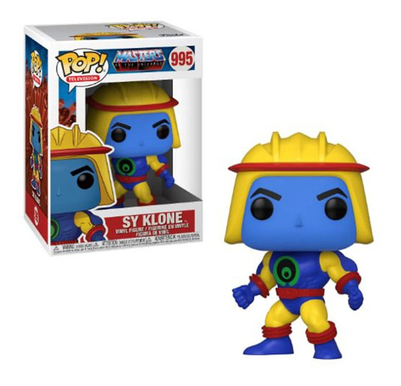 Pop Funko 995 Sy Klone Masters Of The Universe He Man