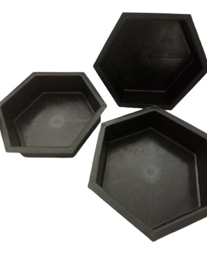 07 Moldes De Pvc P/fabricar Bloquetes De Cimento De 08cm