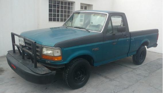 Ford Pick Up F250 1994 2p Est Verde 42mil