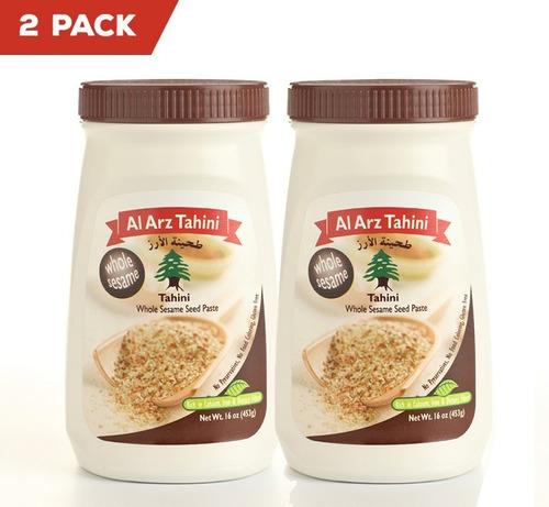 2 Pack De Tahini Integral, Al Arz Tahini