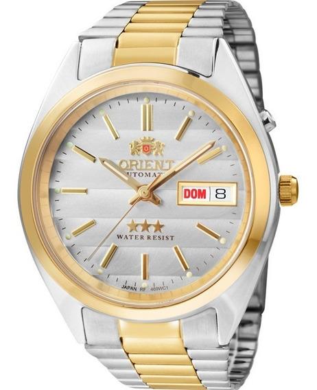Relógio Orient Automático Misto Masculino 469wc1 B1ks Orig