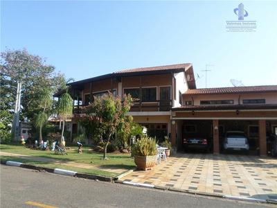 Casa Residencial À Venda, Condomínio Chácara Flora, Valinhos. - Ca1401