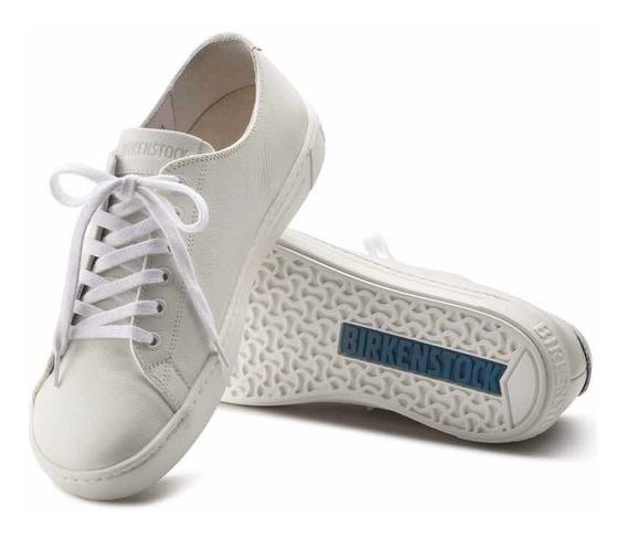 Tenis Birkenstock Con Cordones Blancos