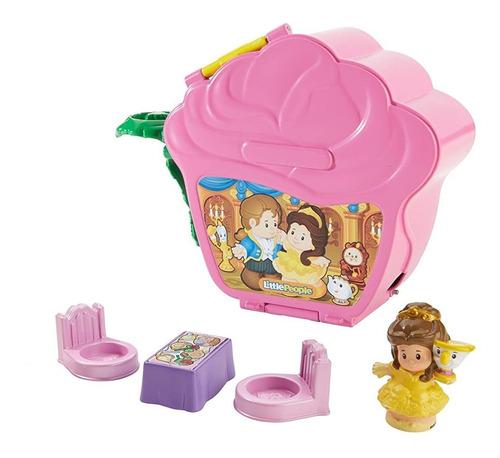Imagen 1 de 6 de Little People La Princesa De Disney, Belle's Fold 'n  Rose