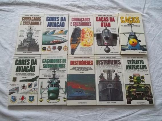 Coleção Guias Armas De Guerras Lote 50 Livros