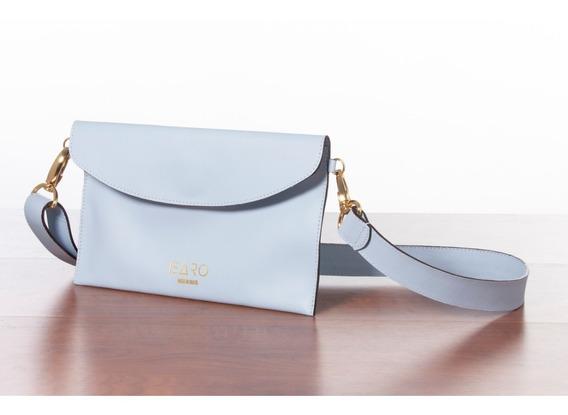 Cross Body Bag Izzy Azul Claro (prata)